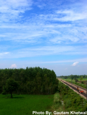 Delhi - Kathgodam Train Route